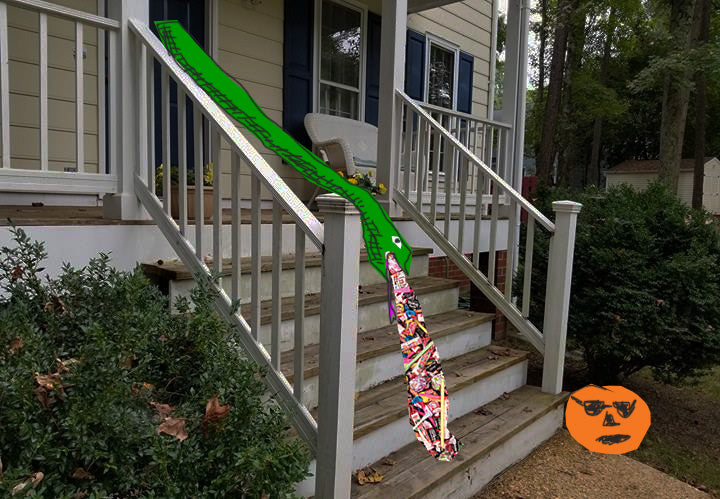 candy chute vomiting snake