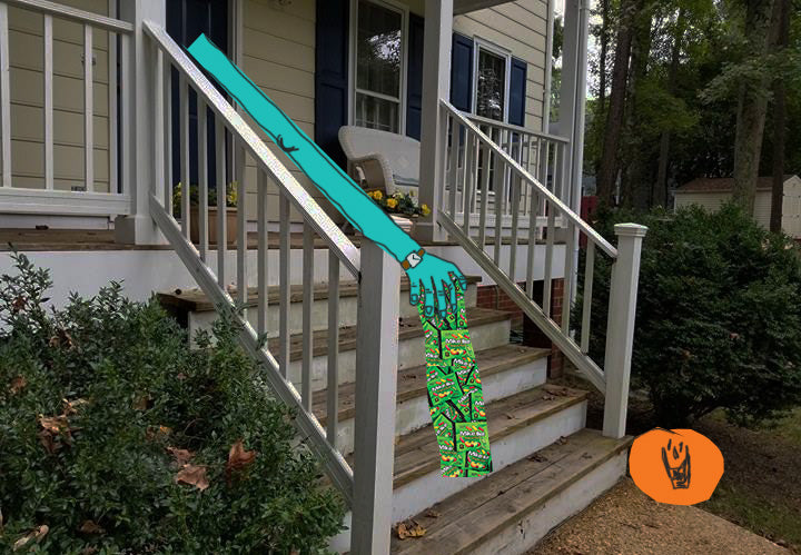 candy chute zombie arm