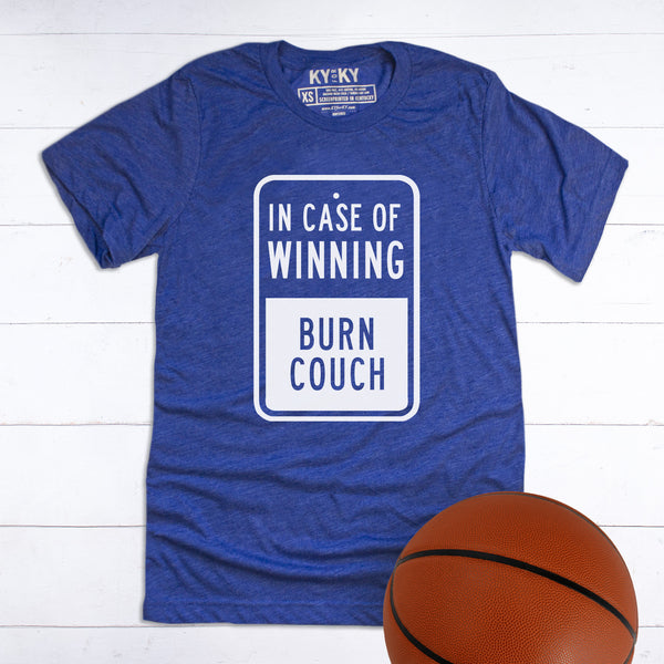 In Case of Winning Burn Couch