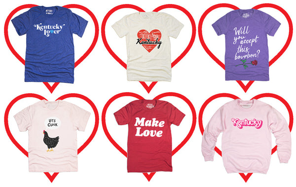 Kentucky Valentine Tees
