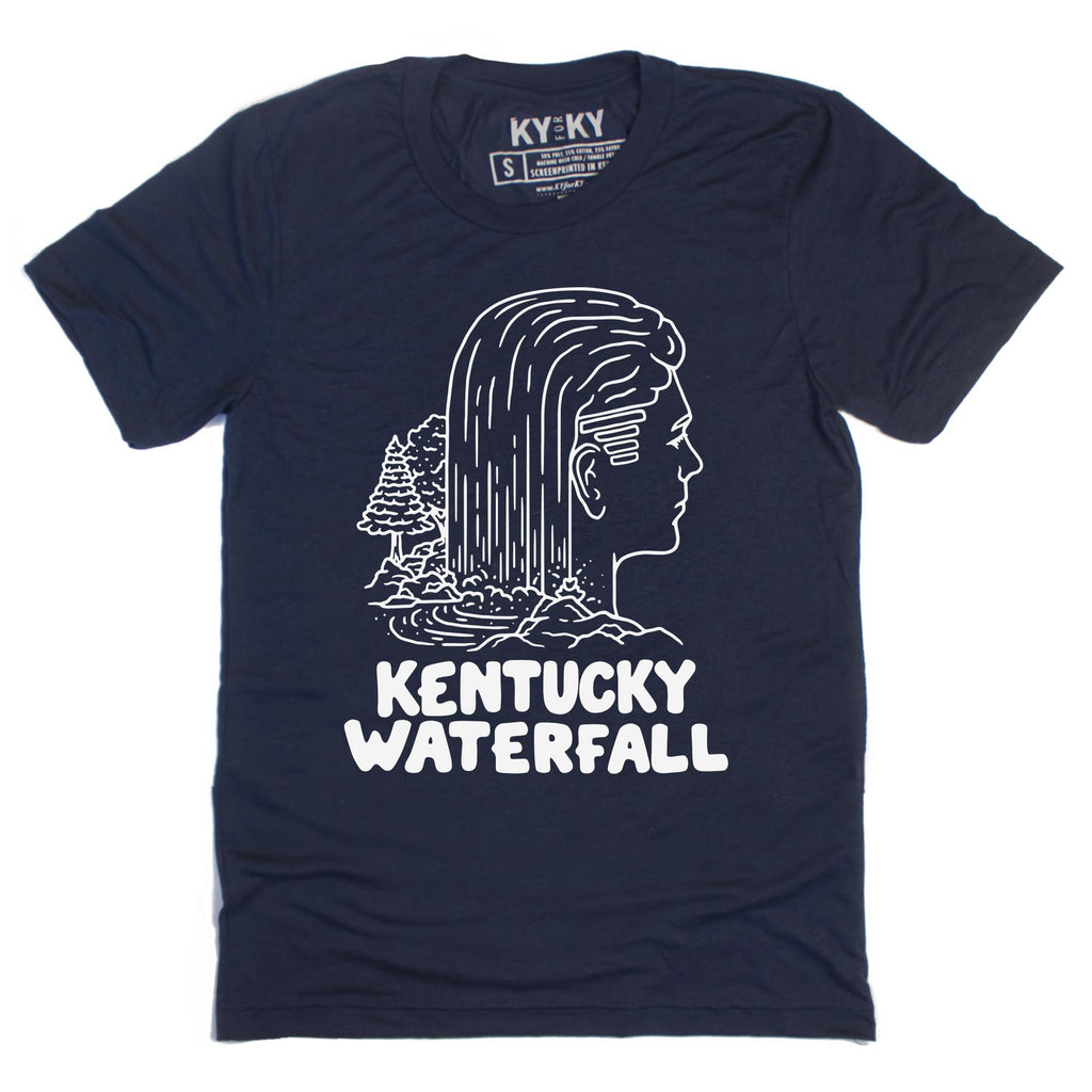 KY Waterfall T-Shirt-T-Shirt-KY for KY Store