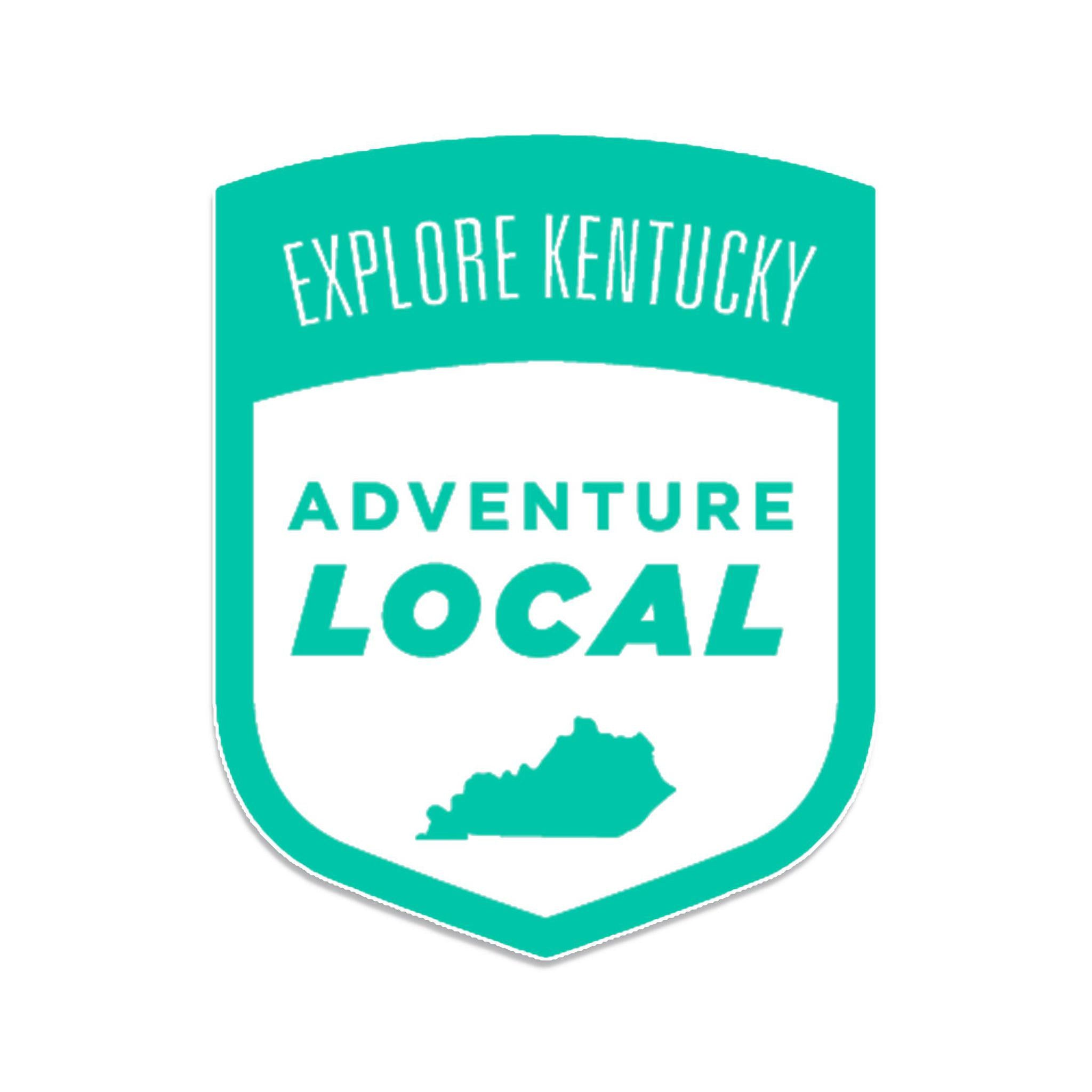 Explore Kentucky's Adventure Local Sticker (Mint Green)-KY for KY Store