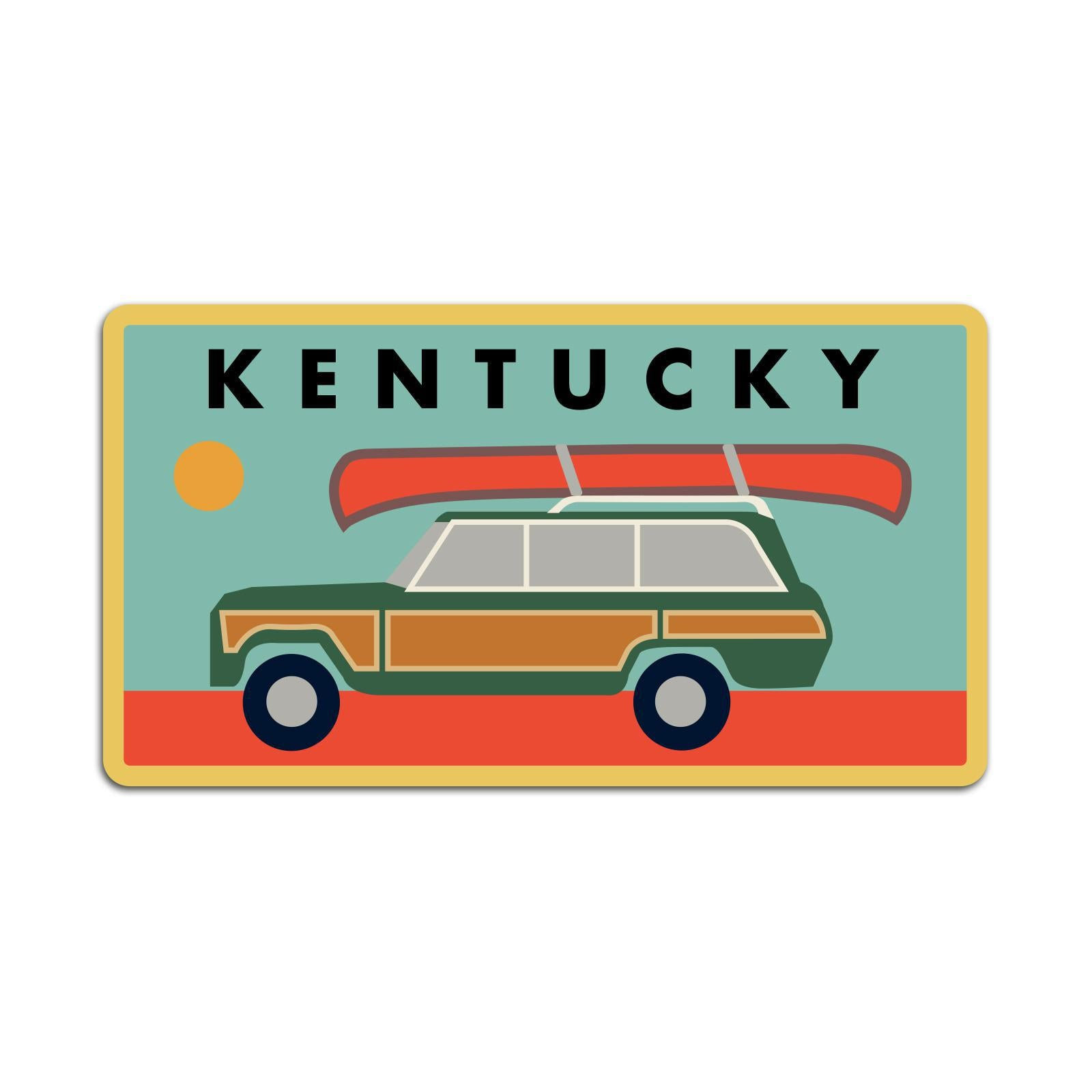 Ky Wagoneer Sticker-KY for KY Store