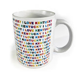 I Love Kentucky Mug-Odds and Ends-KY for KY Store