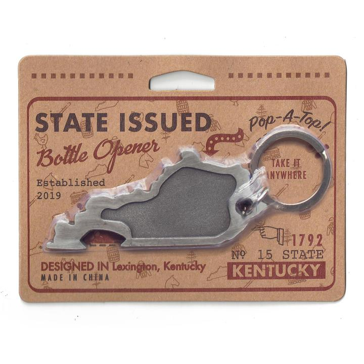 Kentucky Shaped Bottle Opener