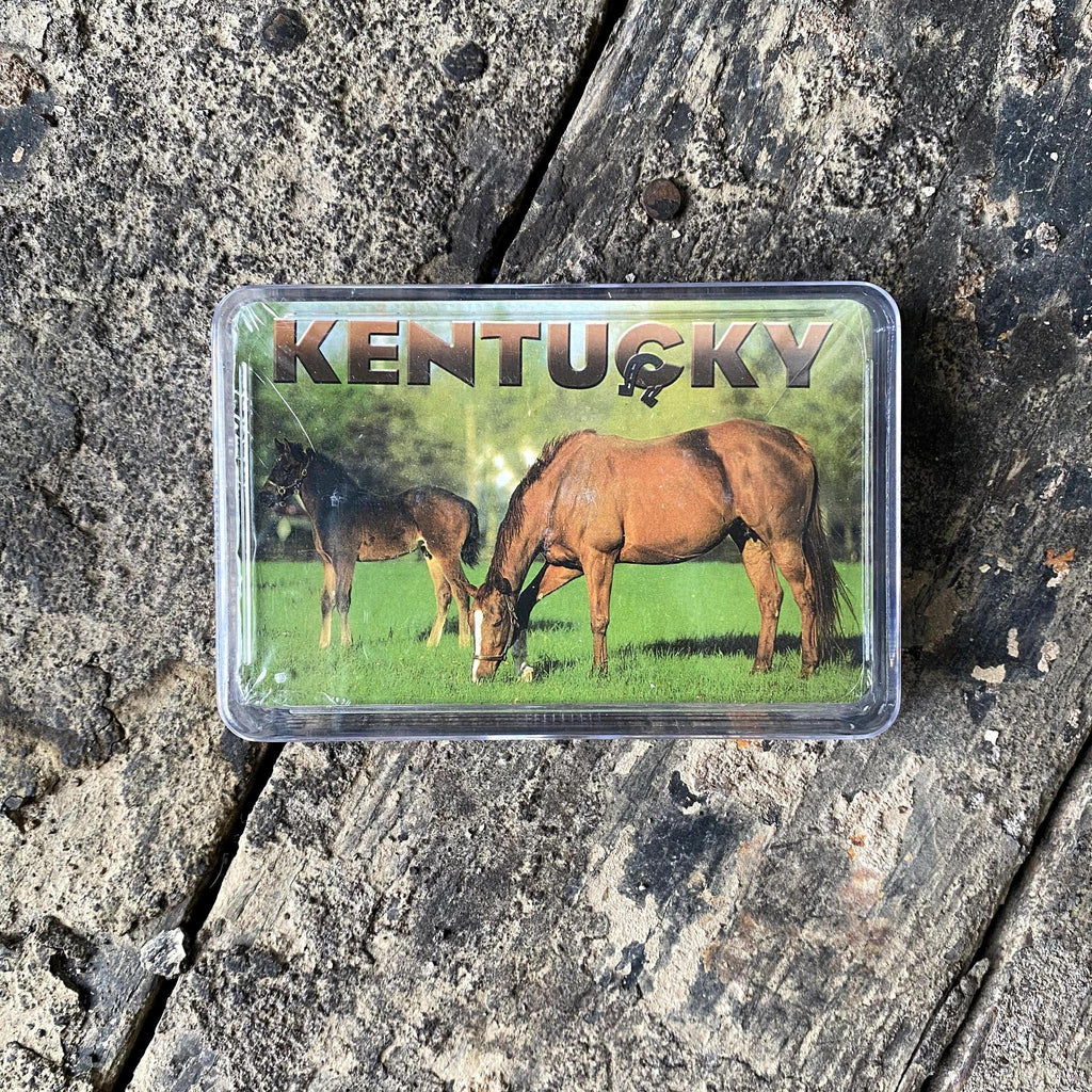 Vintage Reproduction KY Horses Playing Cards-KY for KY Store