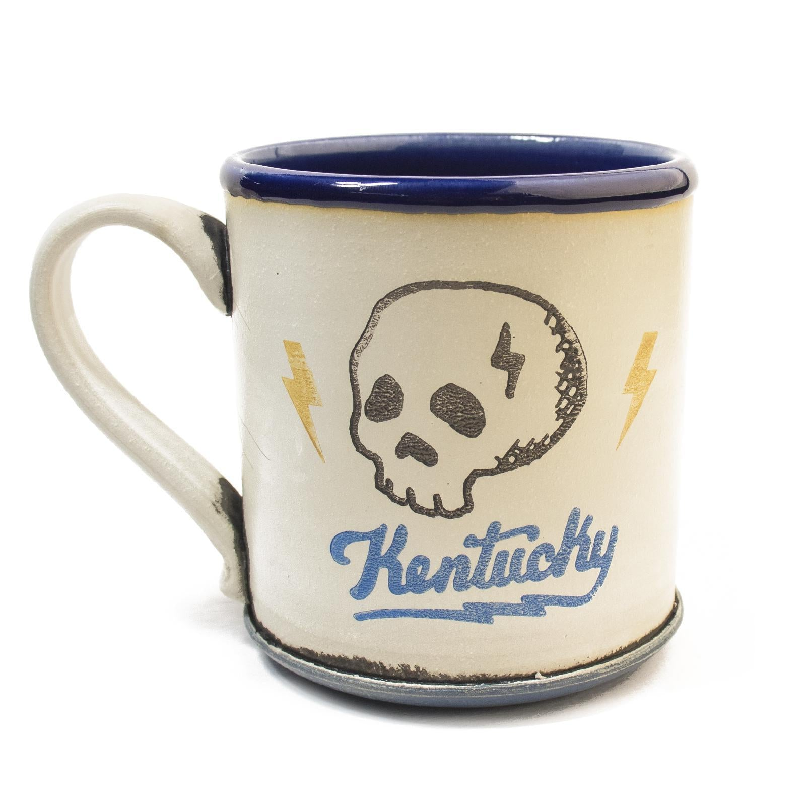Kentucky Skull Mugs by David Kenton Kring-Glass-KY for KY Store