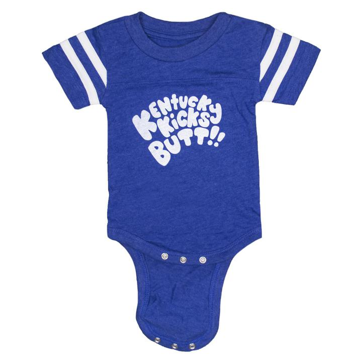 Kentucky Kicks Butt Onesie-Kids-KY for KY Store