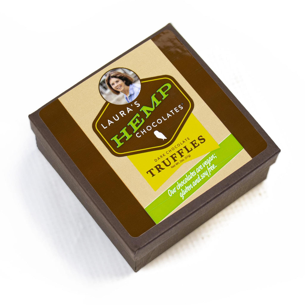 Laura's Hemp Chocolate Truffles-Odds and Ends-KY for KY Store