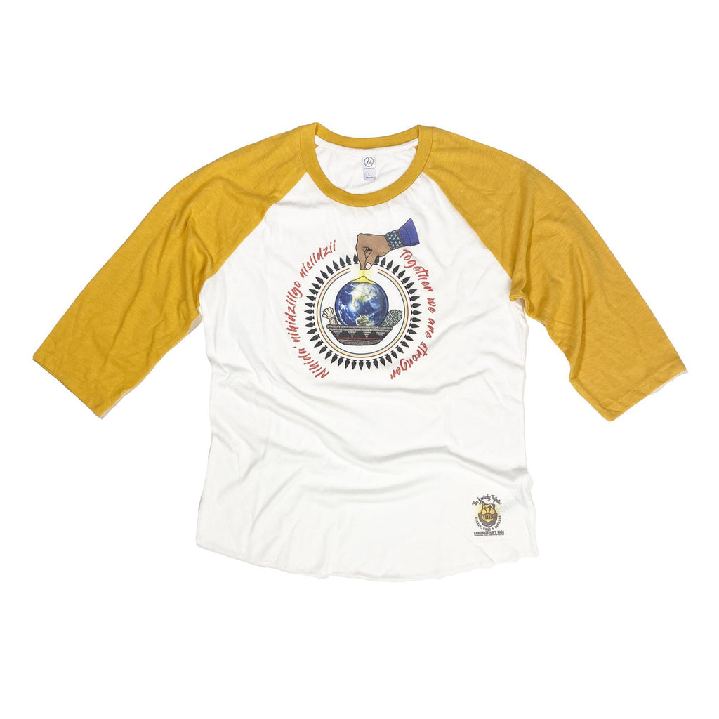 Navajo Nation Covid Relief Baseball Tee