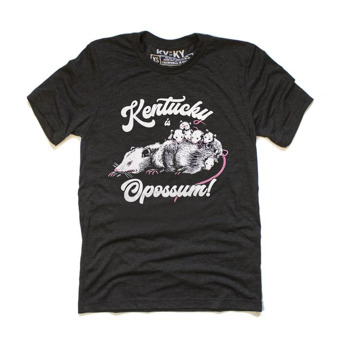 Kentucky is Opossum T-Shirt-T-Shirt-KY for KY Store