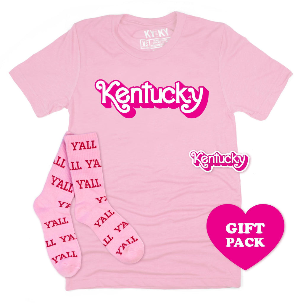 Malibu Kentucky Gift Pack-T-Shirt-KY for KY Store
