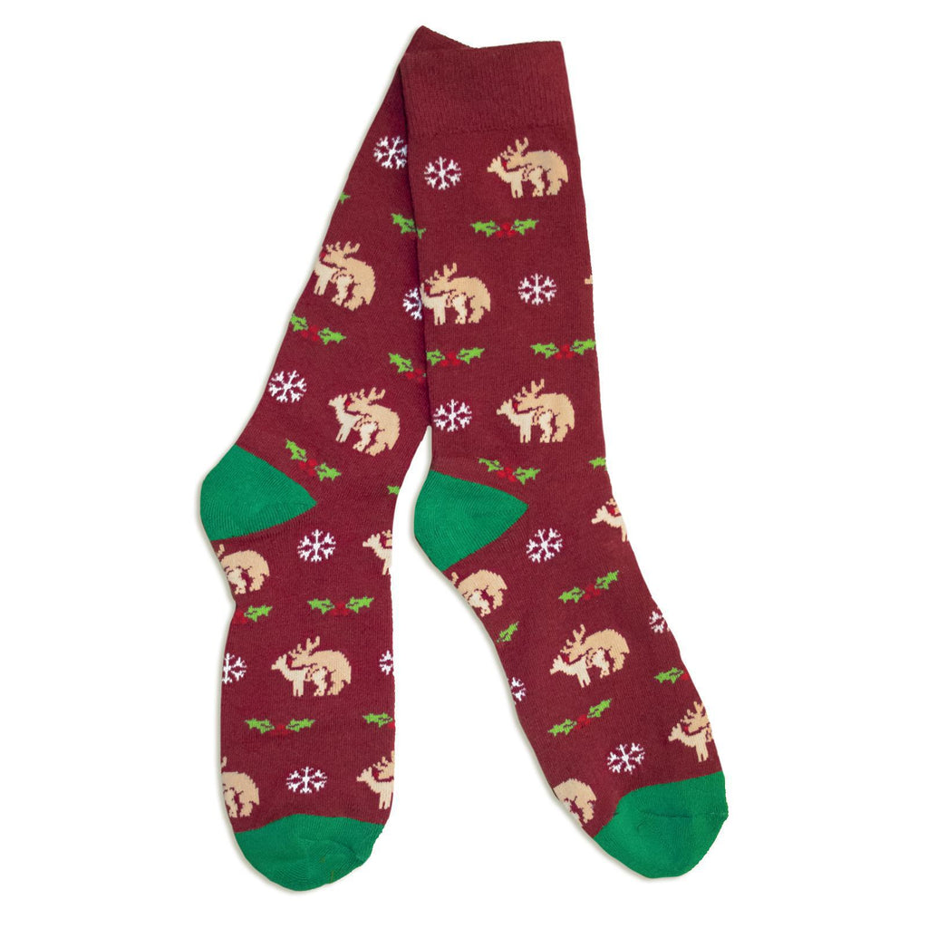 Reindeer Humping Socks-Socks-KY for KY Store
