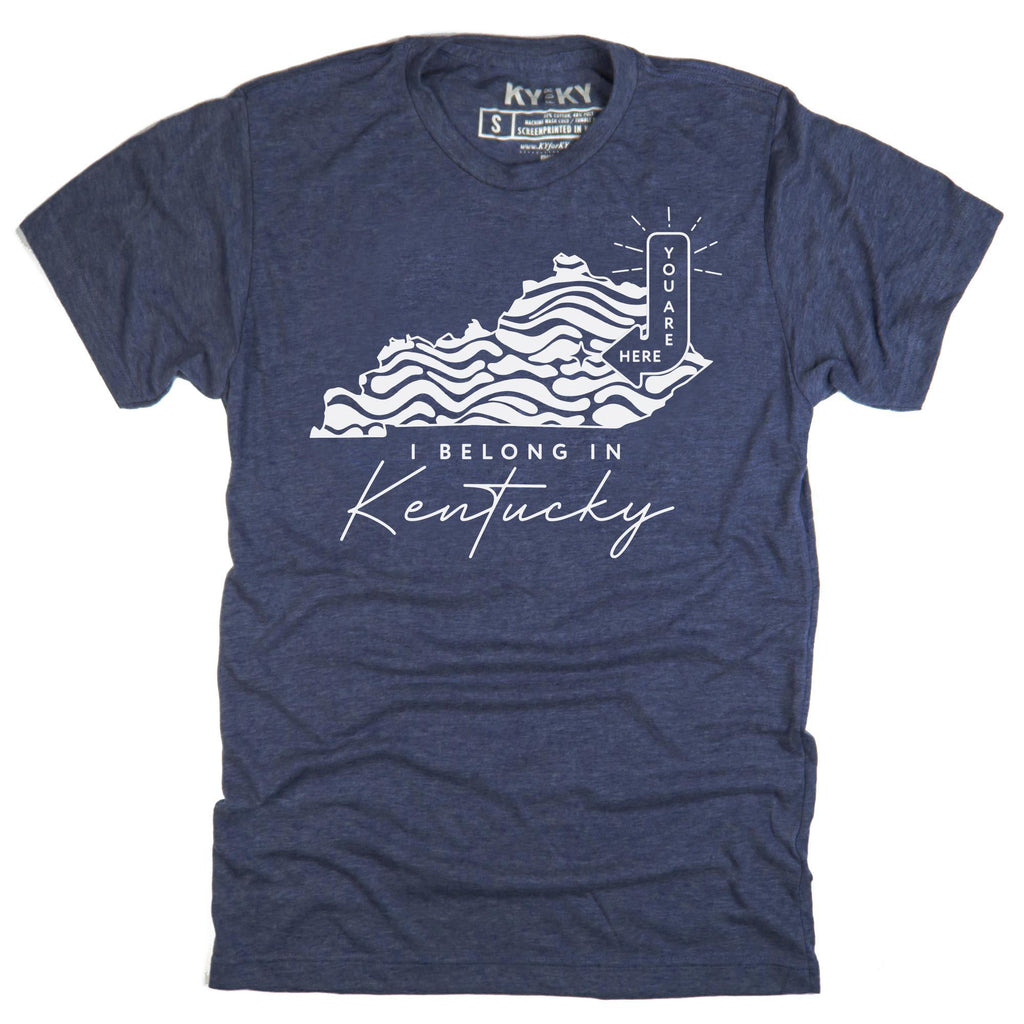 I Belong In Kentucky T-Shirt-T-Shirt-KY for KY Store
