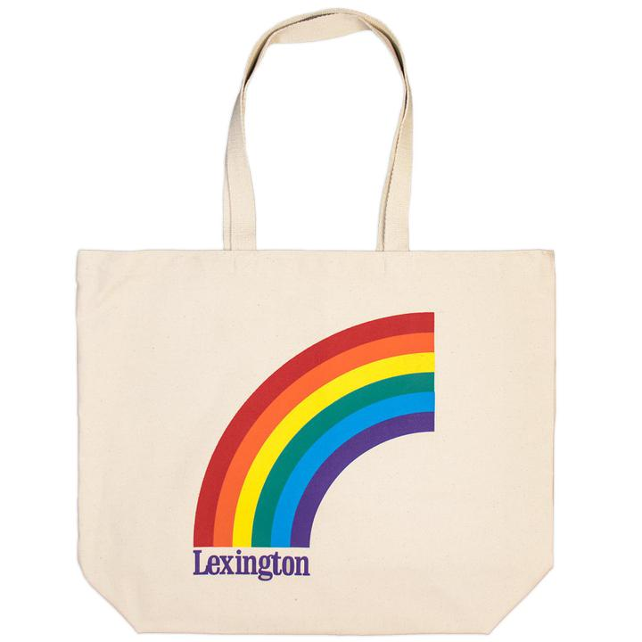 Lexington Rainbow Tote Bag-Odds and Ends-KY for KY Store