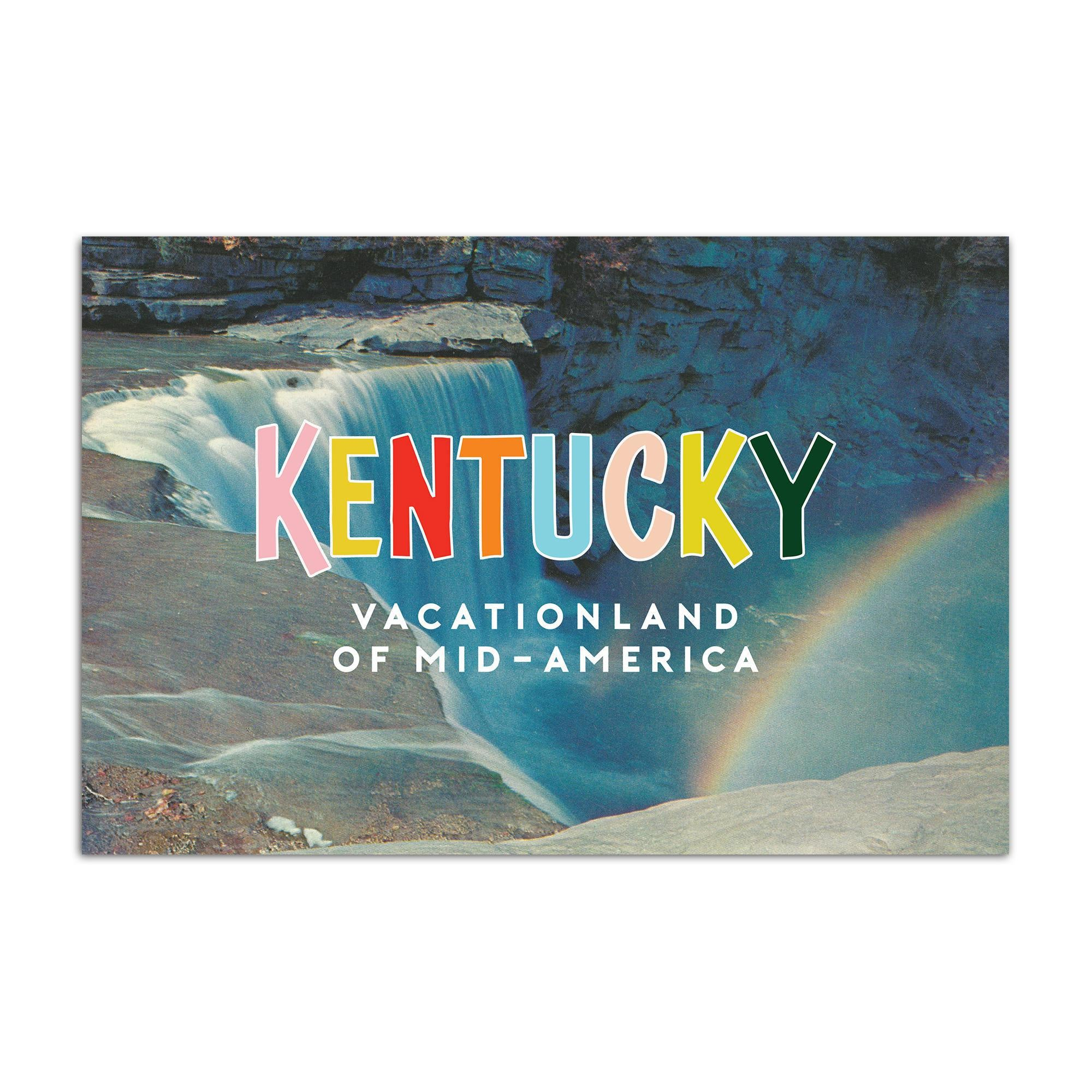 Vacationland Ky Postcard-Odds and Ends-KY for KY Store