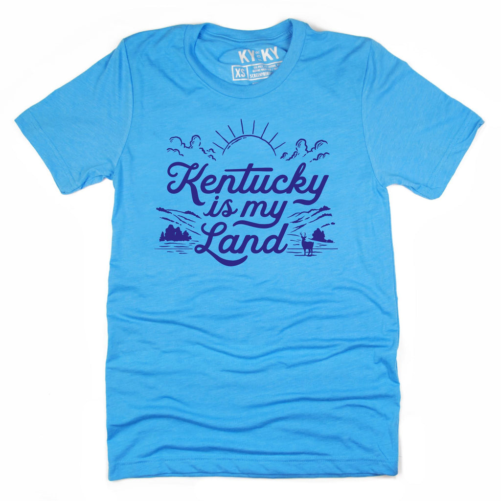Kentucky Is My Land Flood Relief T-Shirt-T-Shirt-KY for KY Store
