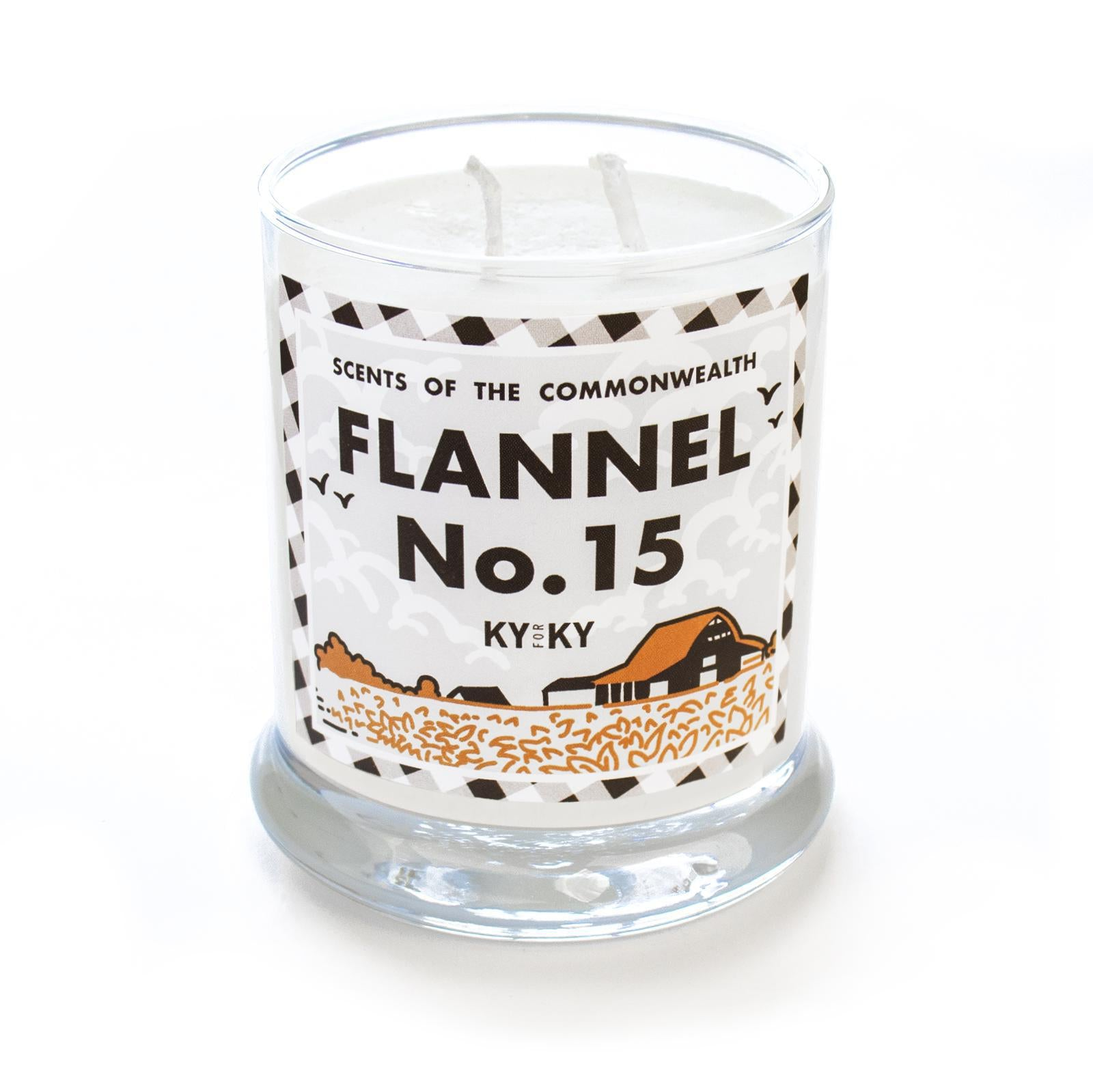 Flannel No. 15 Candle-Odds and Ends-KY for KY Store