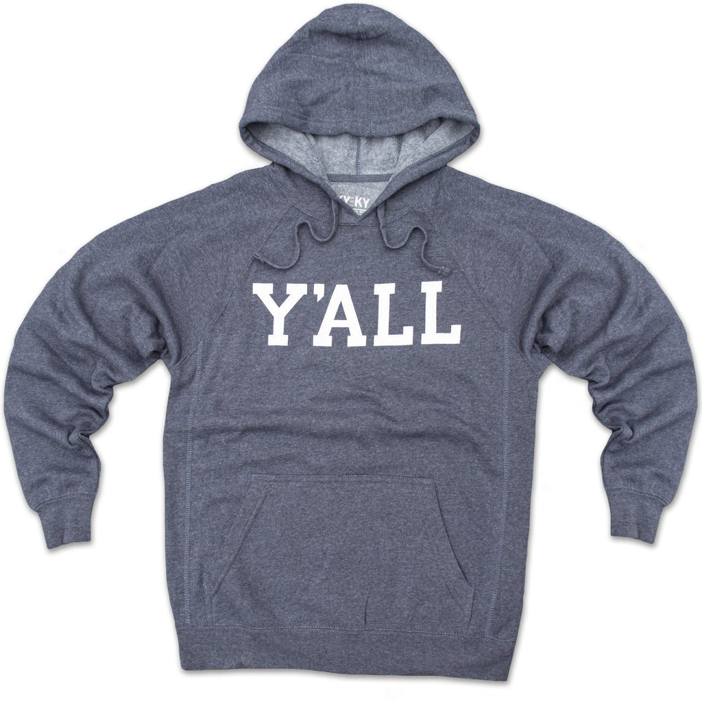 Y'ALL Hoodie (Navy)-Sweatshirt-KY for KY Store