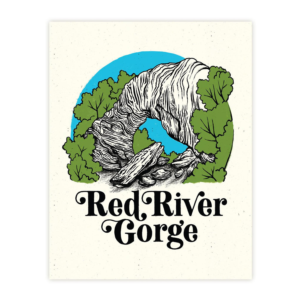 Red River Gorge Print-Prints-KY for KY Store
