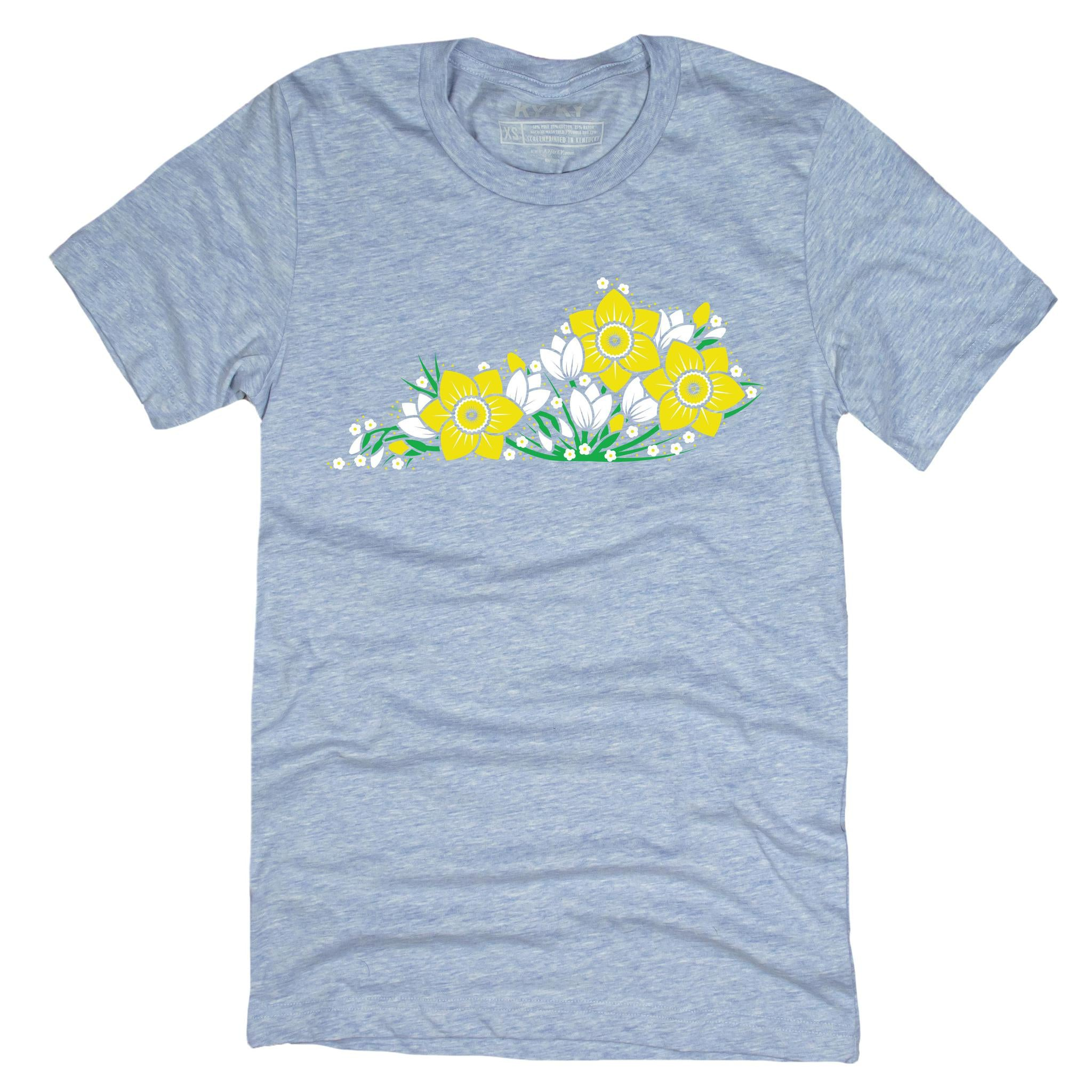 Spring Flower Ky T-Shirt-T-Shirt-KY for KY Store