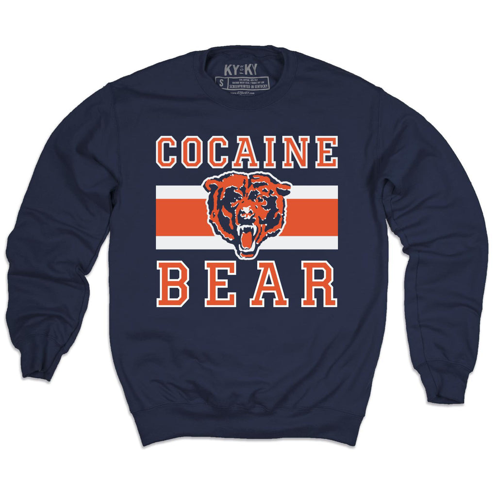 Cocaine Bear Vintage Sweatshirt-Sweatshirt-KY for KY Store