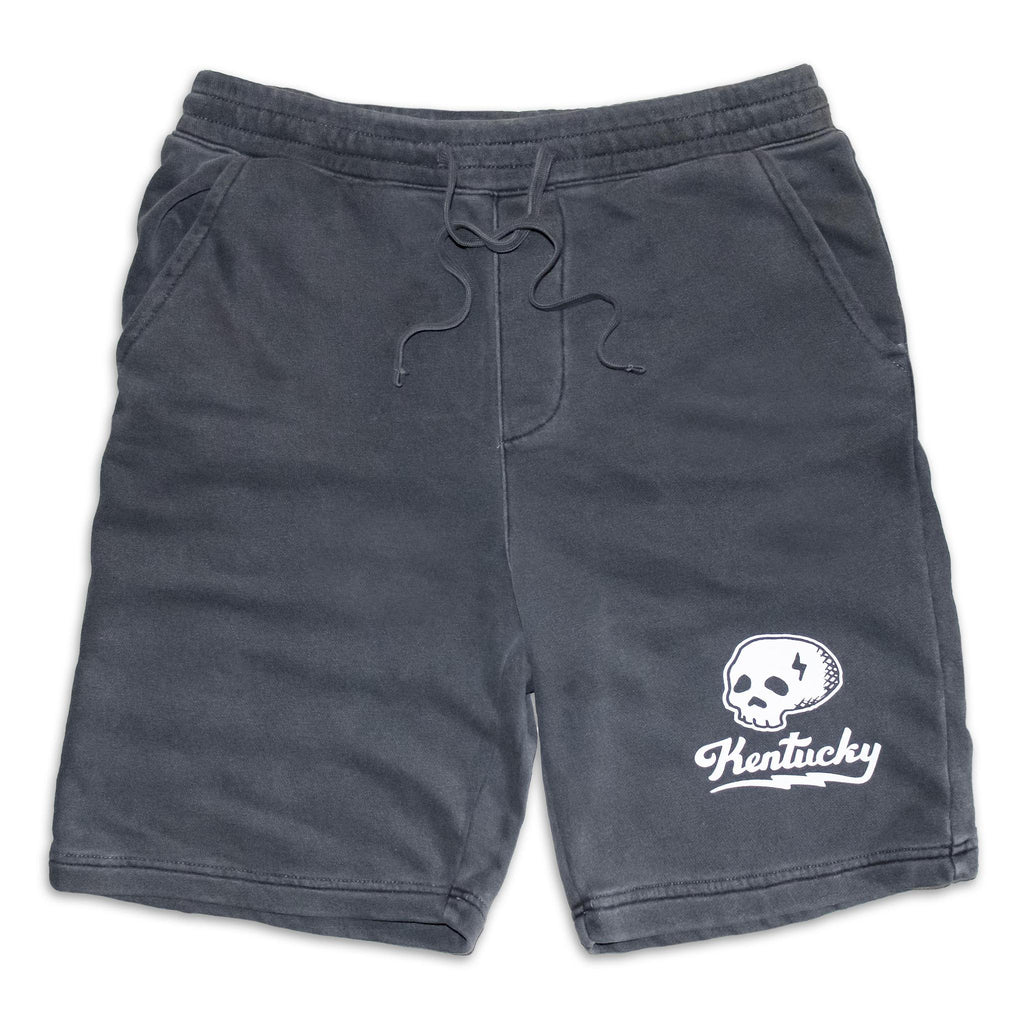 Kentucky Skull Sweatshorts-Odds and Ends-KY for KY Store