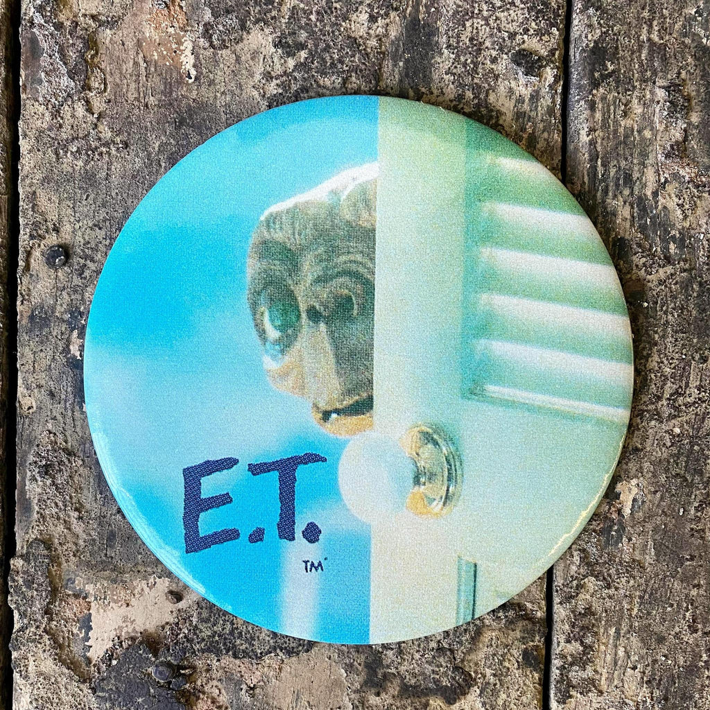 Vintage E.T. Official Button-KY for KY Store