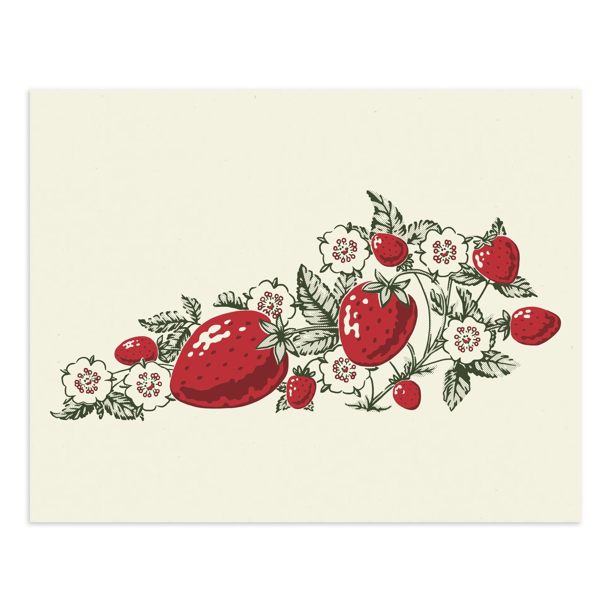 Strawberry KY Print-Prints-KY for KY Store