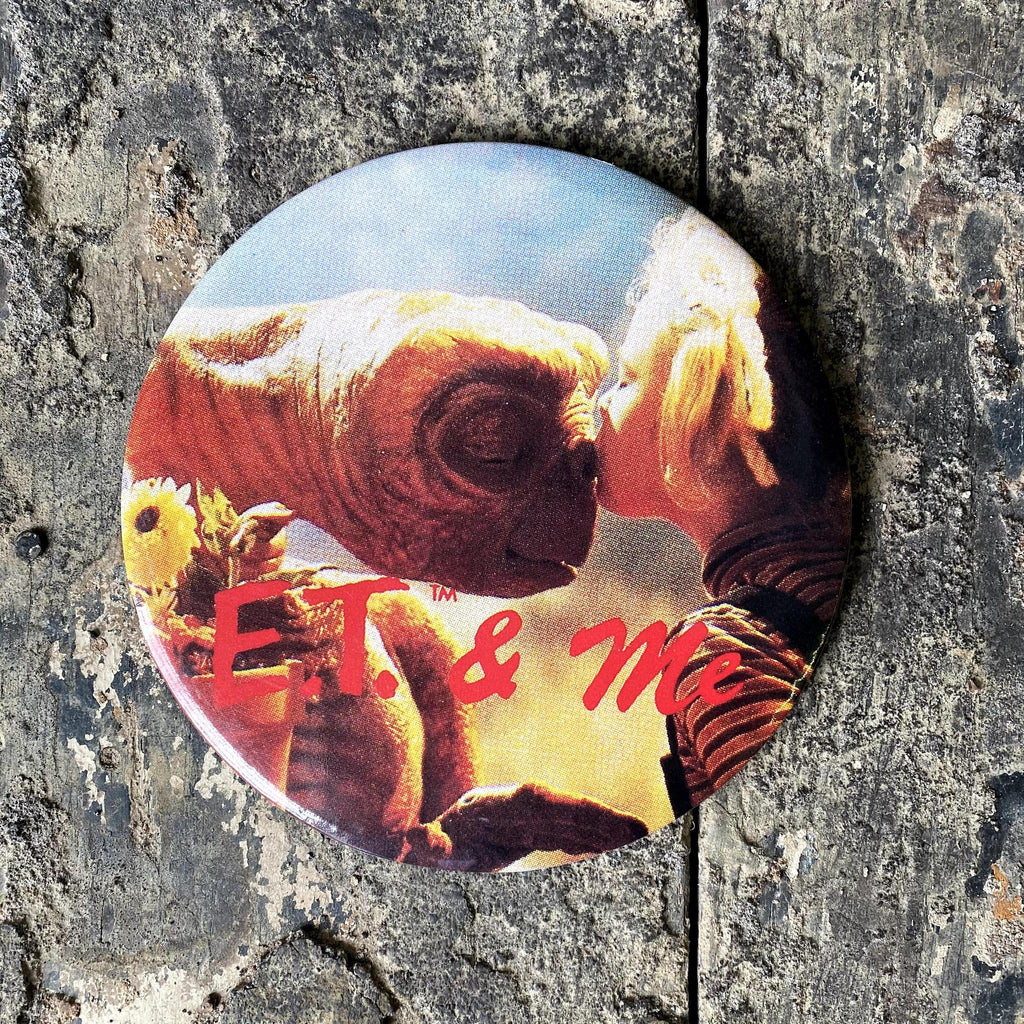 Vintage E.T. w Gertie Official Button-KY for KY Store