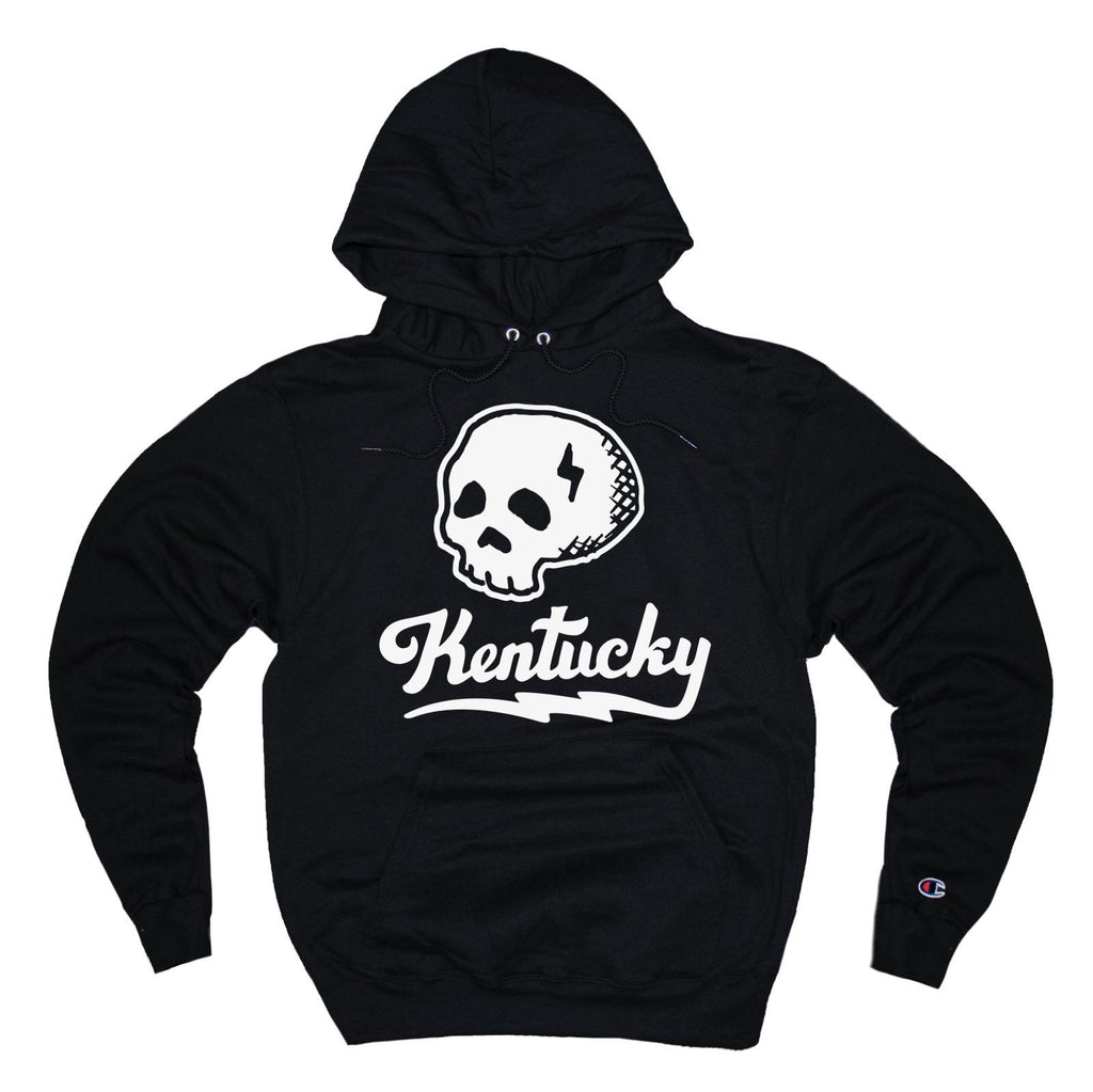 Kentucky Skull Hoodie-Sweatshirt-KY for KY Store