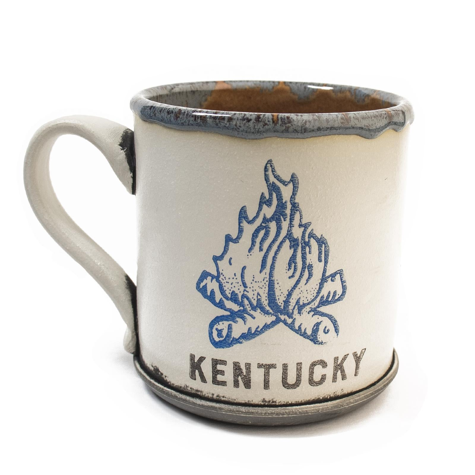 Kentucky Campfire Mugs by David Kenton Kring-Glass-KY for KY Store