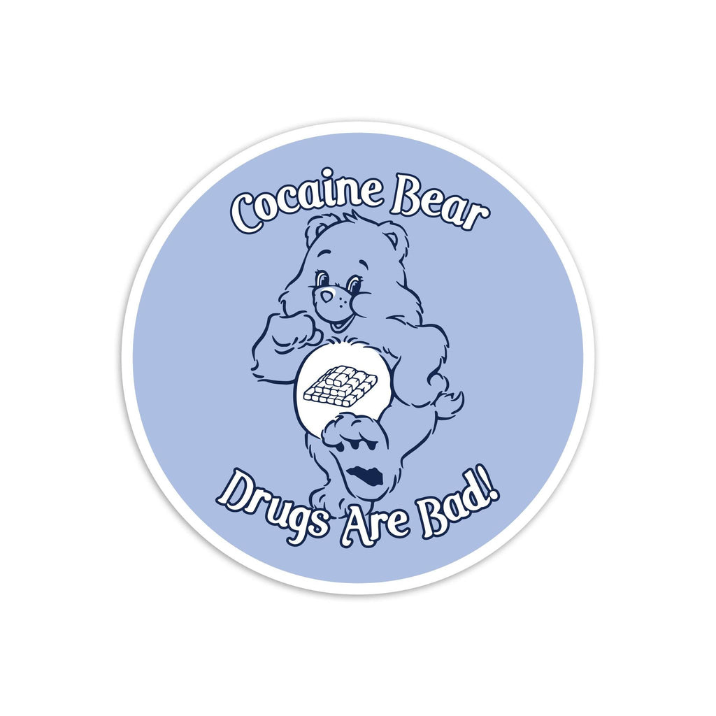 Cocaire Bear Sticker-Stickers-KY for KY Store