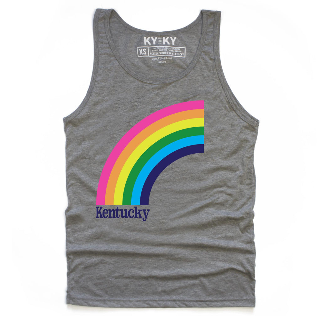 Kentucky Rainbow Tank Top-Tank Top-KY for KY Store