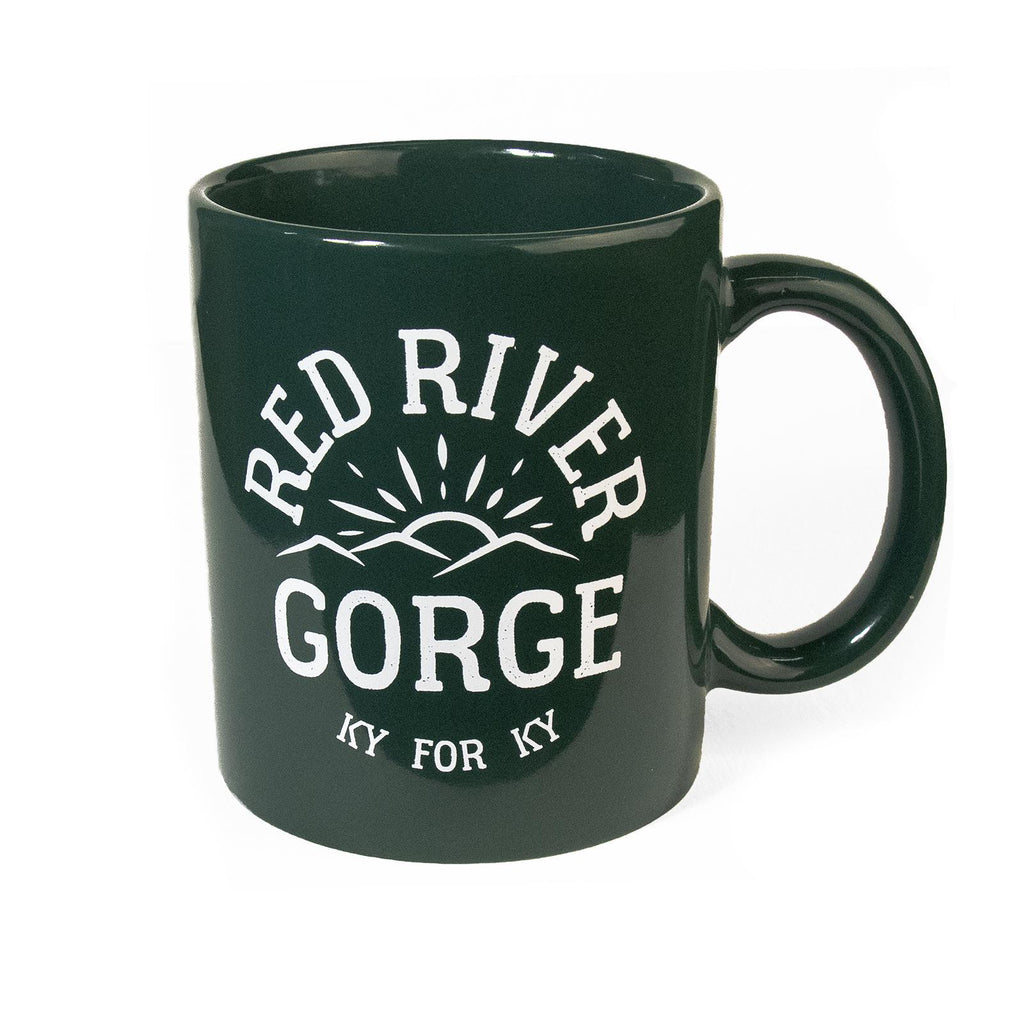 Red River Gorge Mug (Green)-Odds and Ends-KY for KY Store