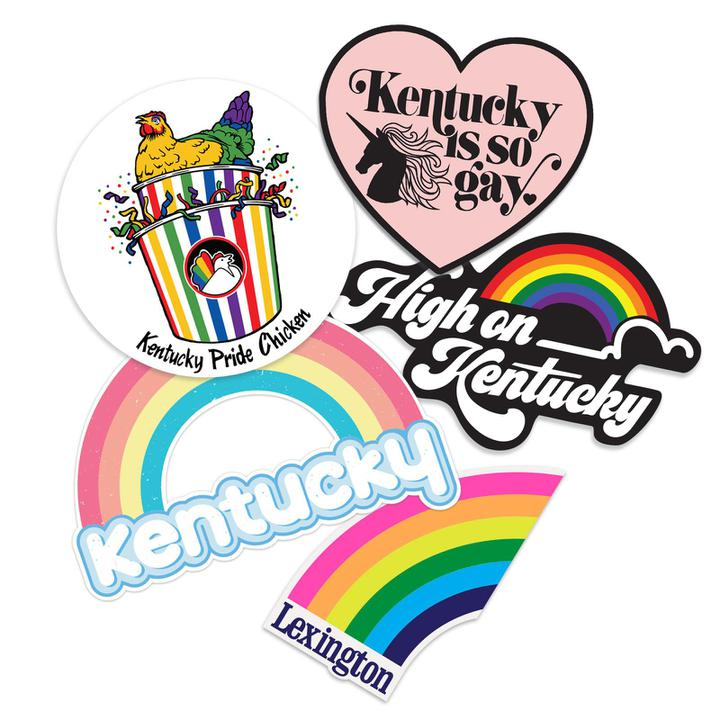 Pride Sticker Pack!-Stickers-KY for KY Store