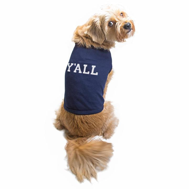 Y'ALL Dog Shirt-Dog-KY for KY Store