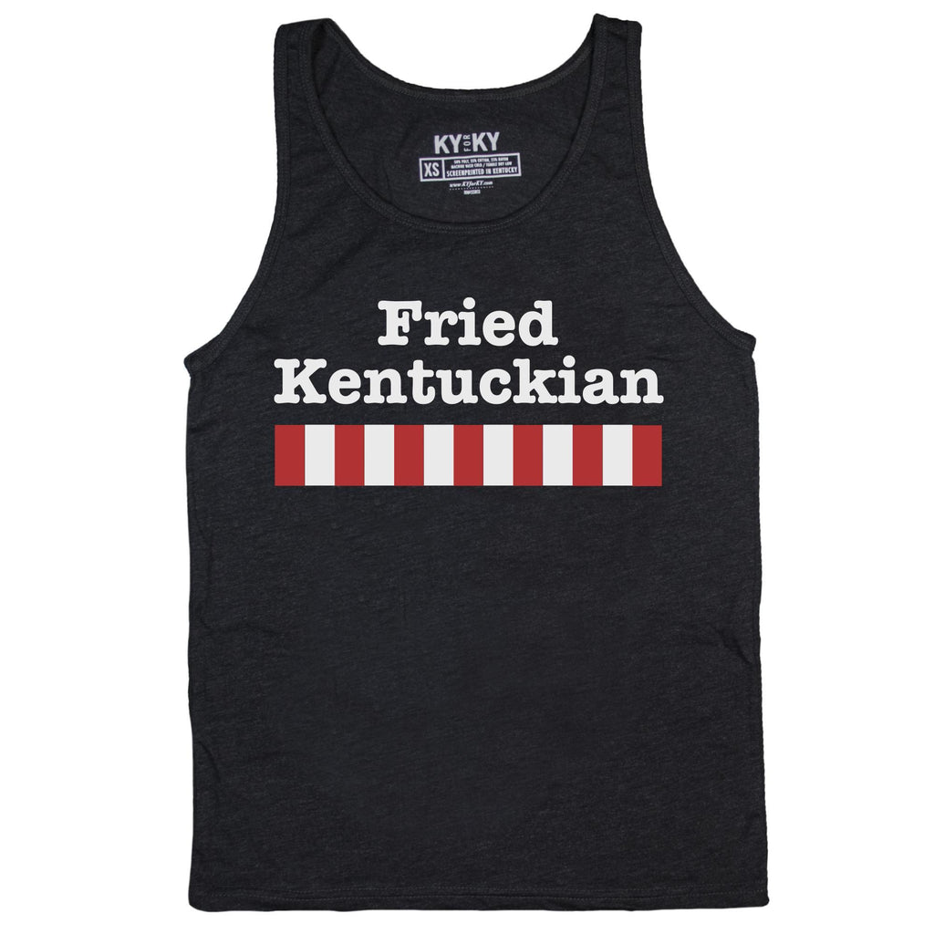 Fried Kentuckian Tank Top-Tank Top-KY for KY Store