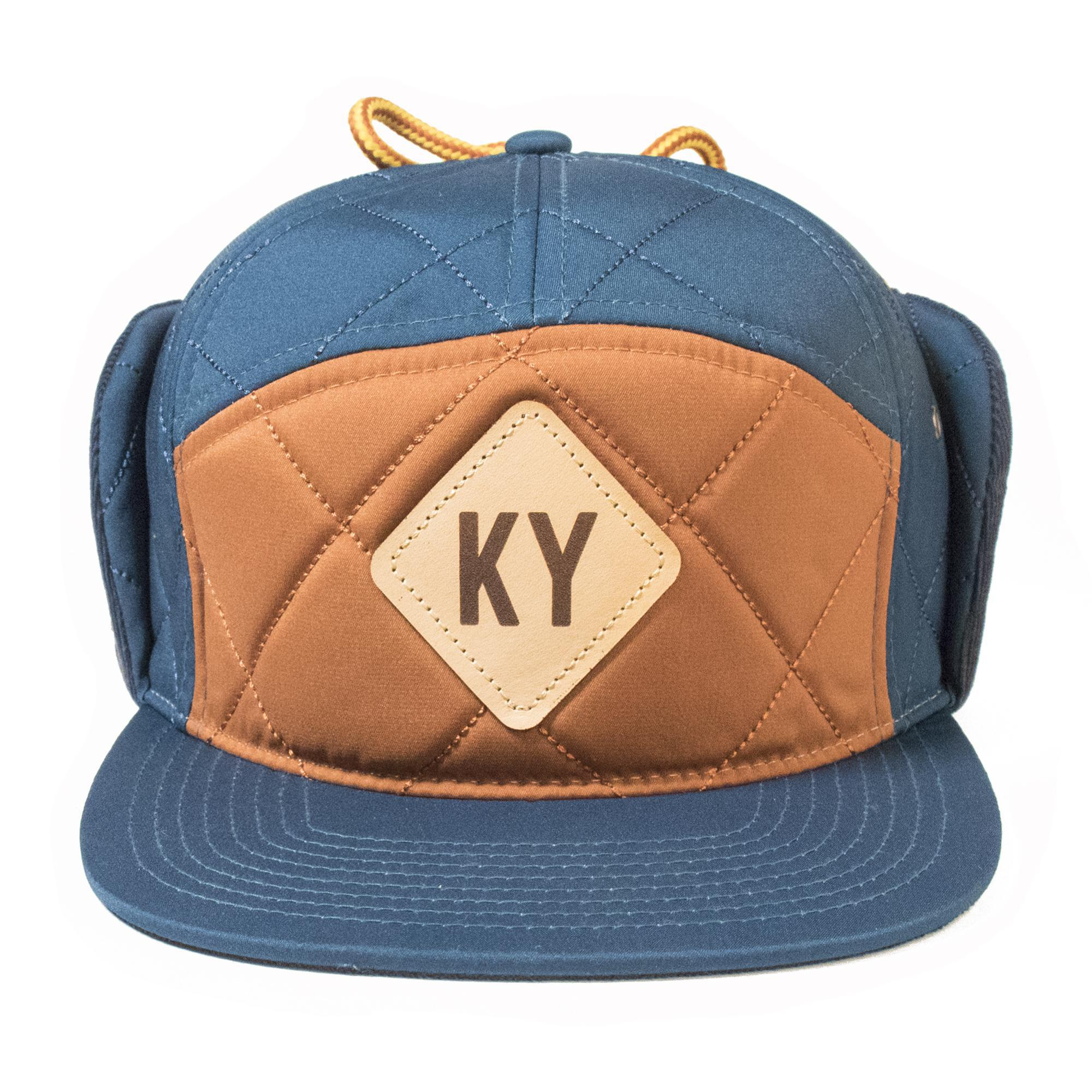 KY Flap Hat (Blue)-Hat-KY for KY Store