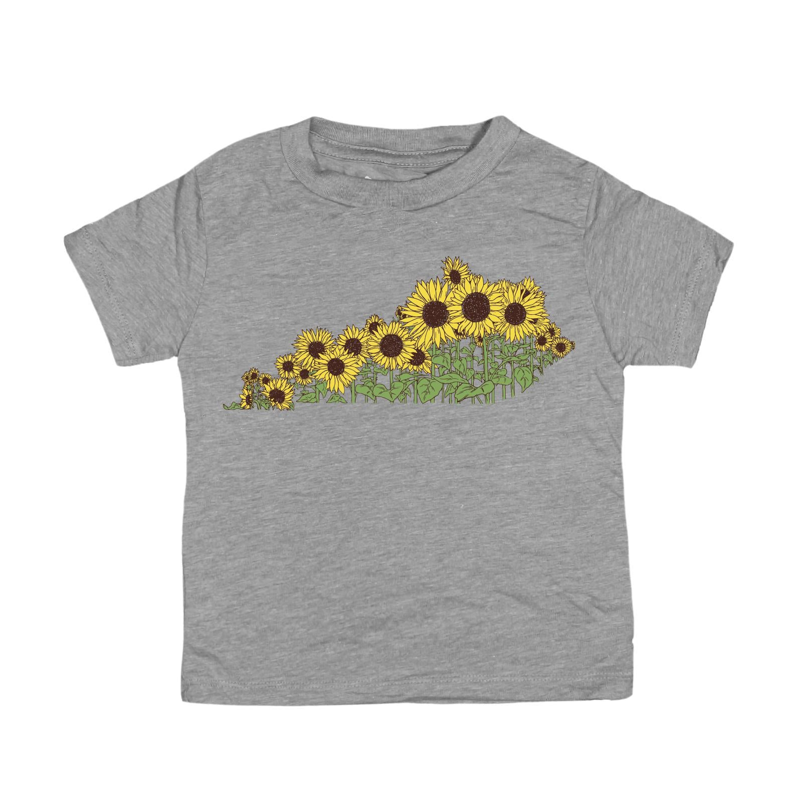 Sunflower KY Kids T-Shirt-Kids-KY for KY Store