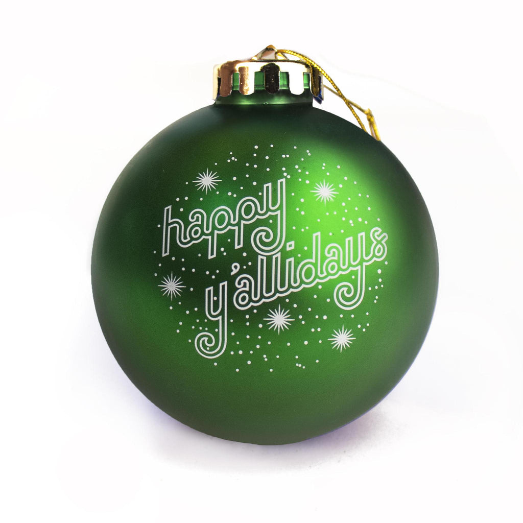 Happy Y'allidays Ornament-Odds and Ends-KY for KY Store