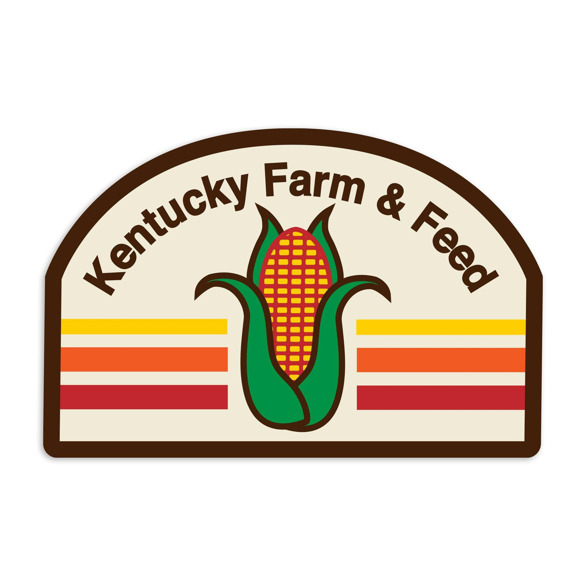 KY Farm & Feed Sticker-Stickers-KY for KY Store