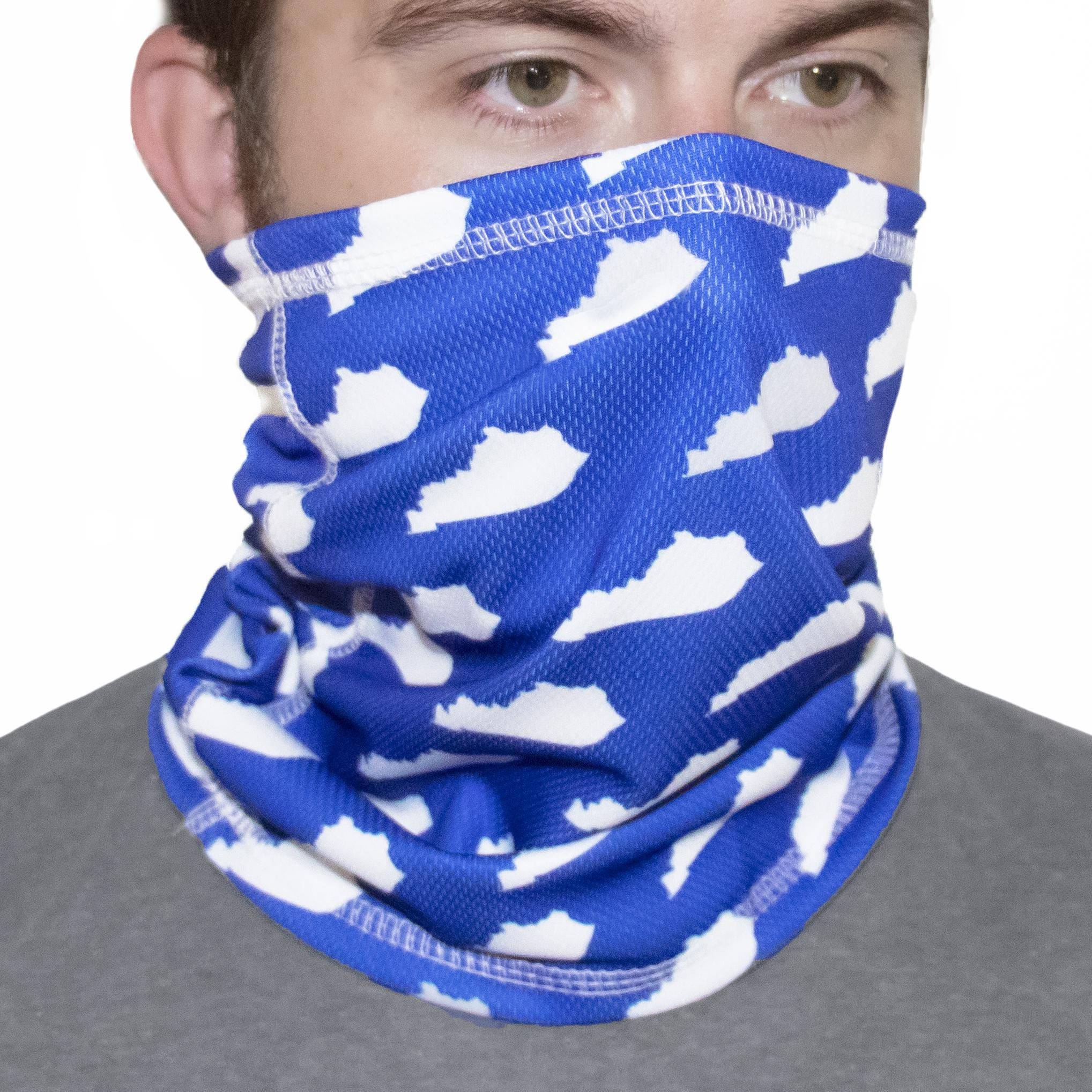Ky Shape Face Gaiter-Mask-KY for KY Store
