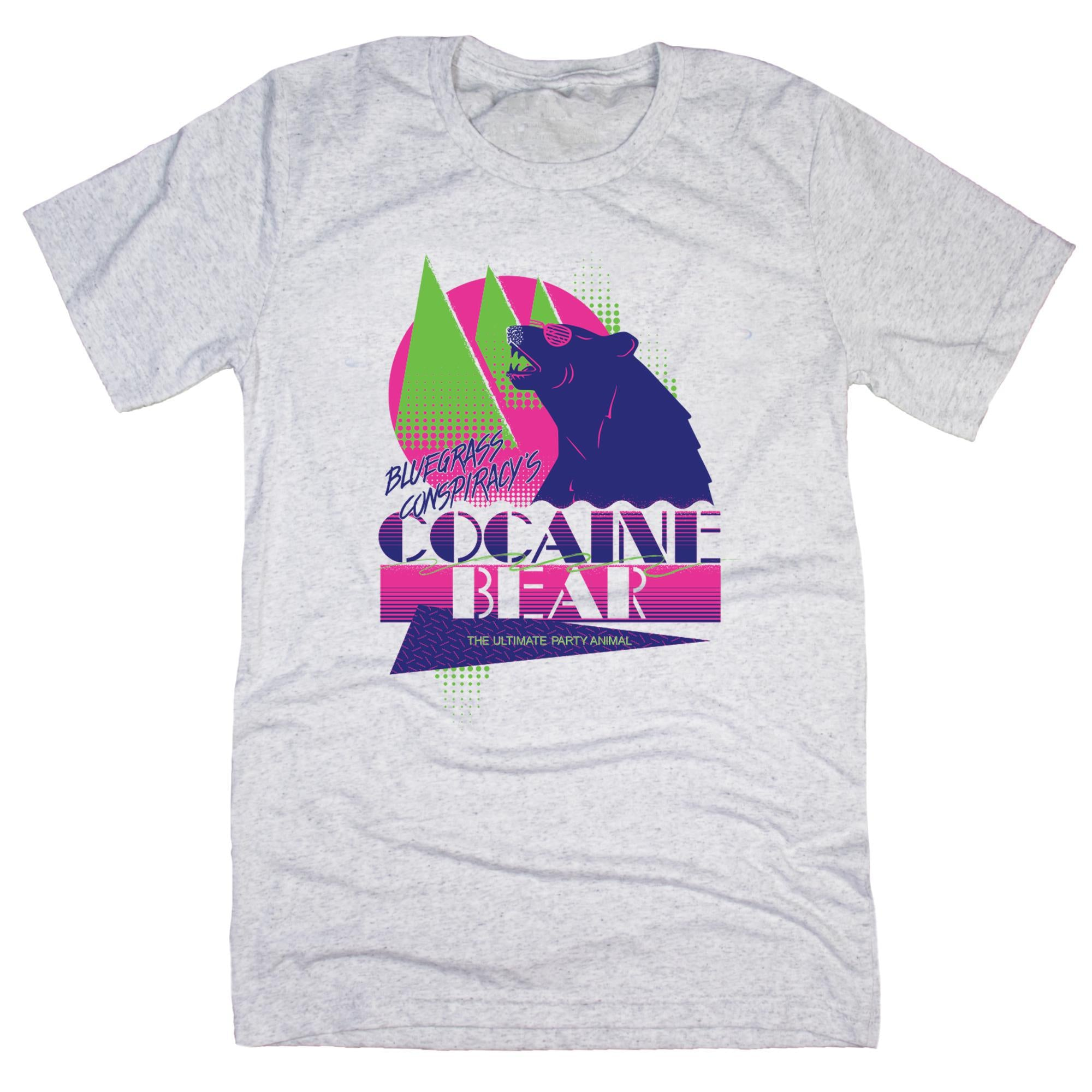 Cocaine Bear: The Ultimate Party Animal T-Shirt-T-Shirt-KY for KY Store