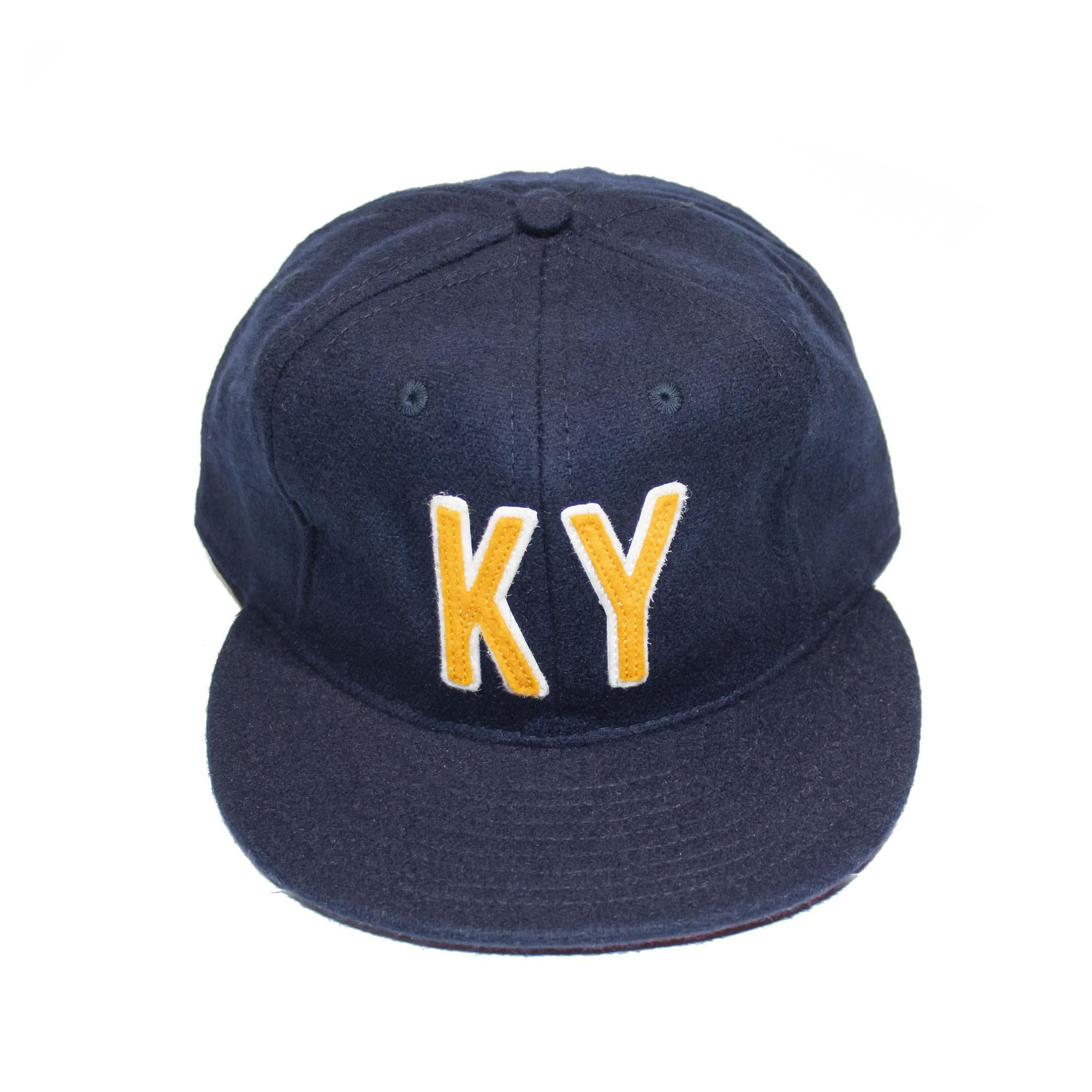KY Ebbets Hat (Navy and Gold/White)-Hat-KY for KY Store