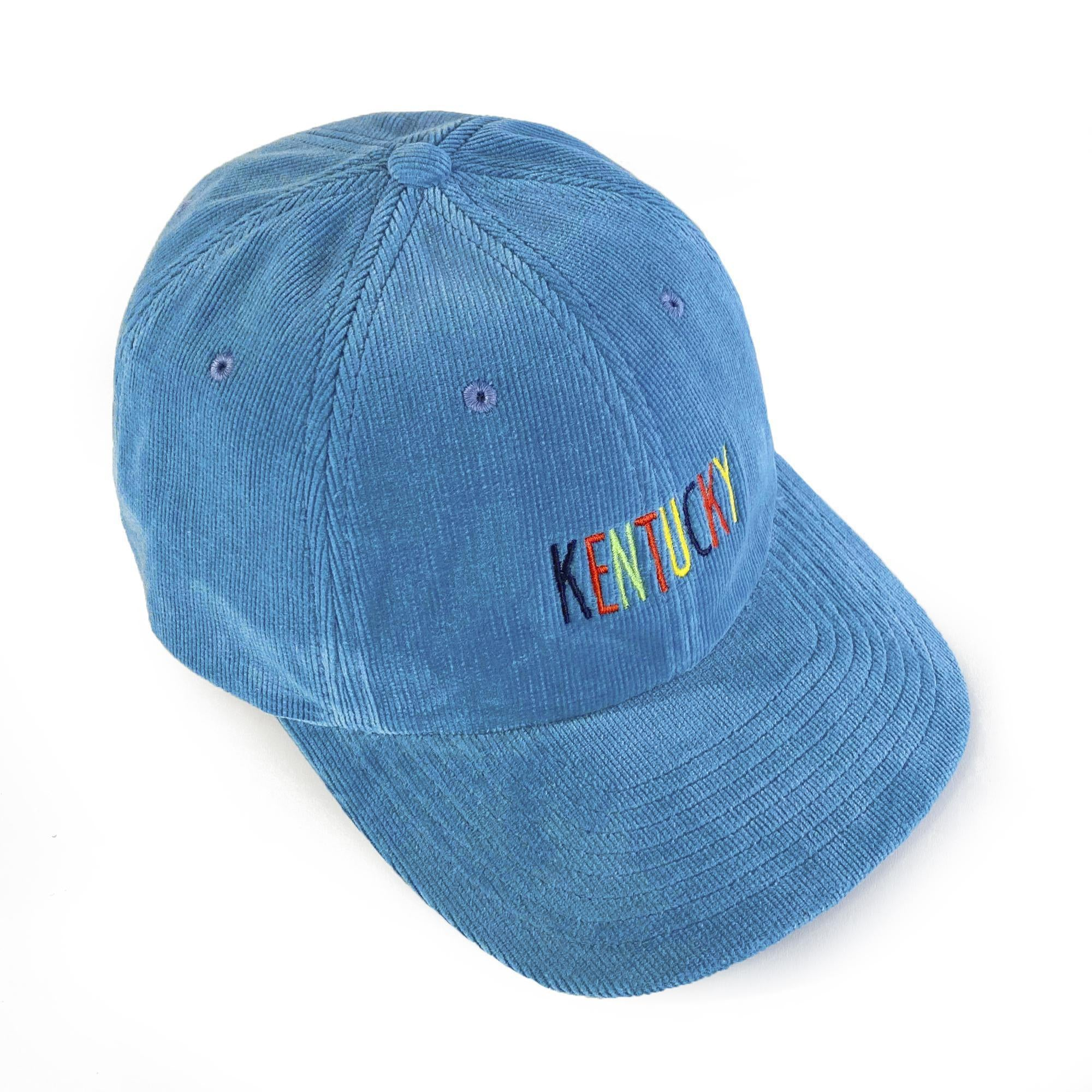 Kentucky Corduroy Dad Hat (Lt. Blue)-Hat-KY for KY Store