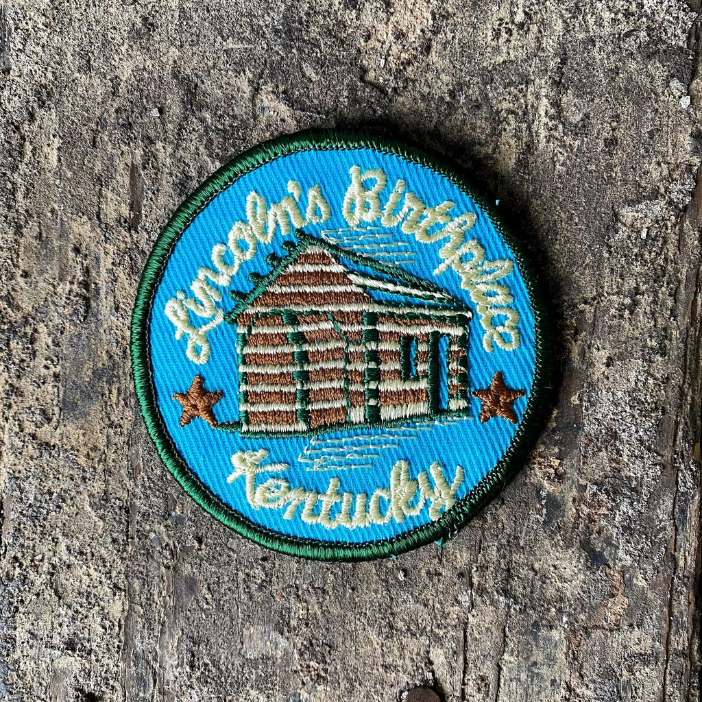 Vintage Lincoln's Birthplace KY Patch-KY for KY Store