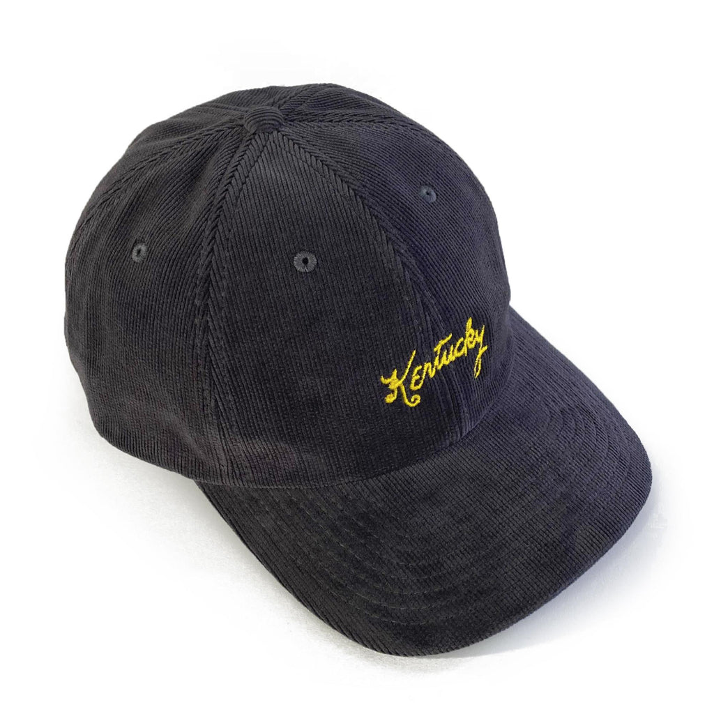 Kentucky Corduroy Dad Hat (Dark Grey)-Hat-KY for KY Store