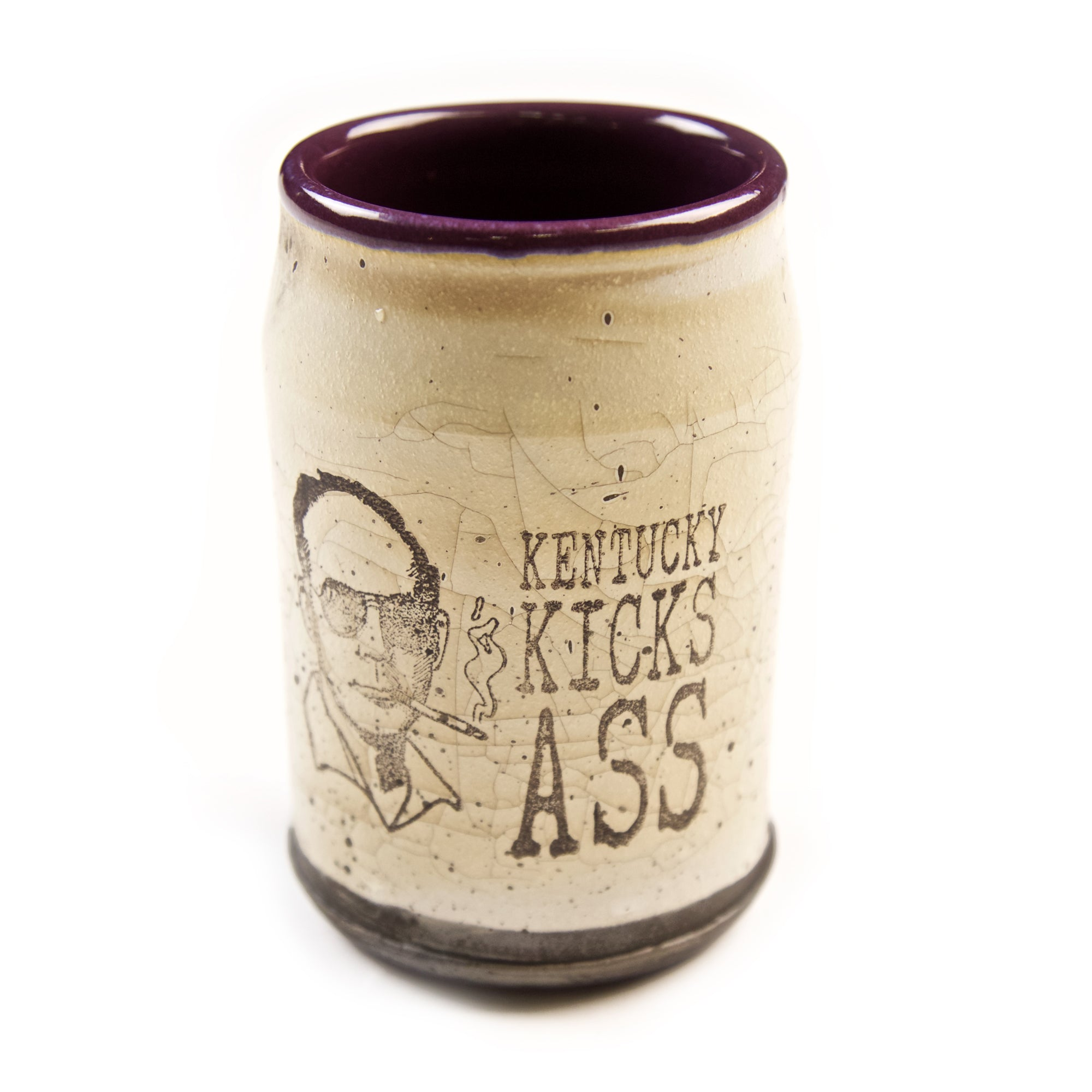 Hunter S Thompson Tumblers by David Kenton Kring-Odds and Ends-KY for KY Store