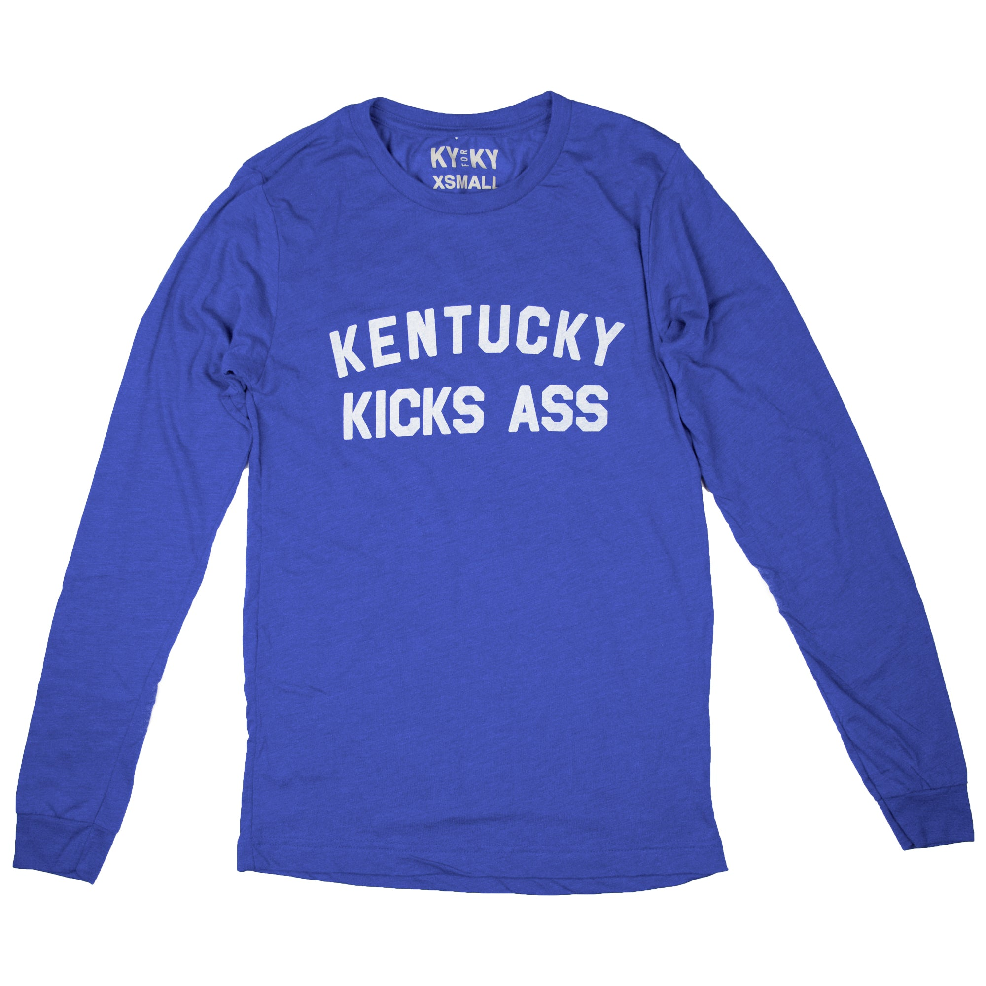 Long Sleeve Kentucky Kicks Ass Shirt-T-Shirt-KY for KY Store